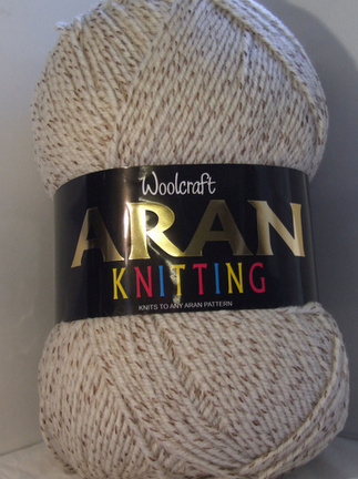 Woolcraft Aran 400g 25 Wool 898 Peat Neil The Knit Wools And